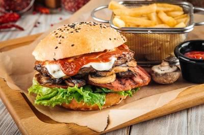 X - Burger Champignon