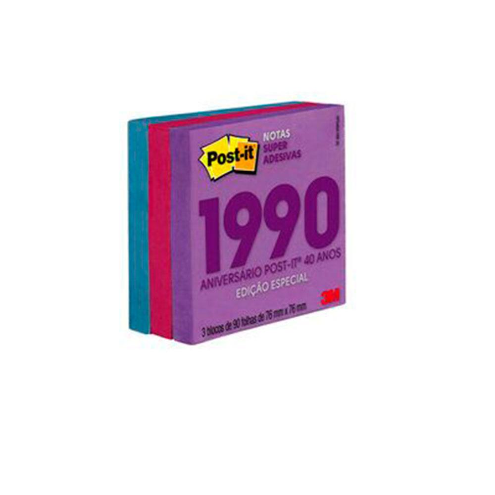 Post-it Notas Super Adesivas Coleção Anos 90