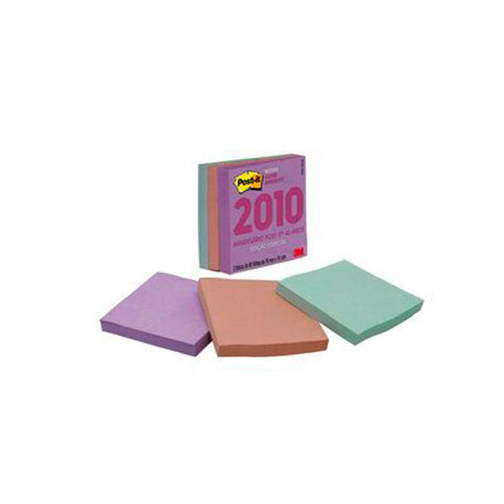 Post-it Notas Super Adesivas Coleção Anos 2010