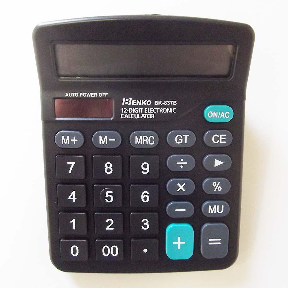Calculadora 12 Dígitos Benko BK-837B