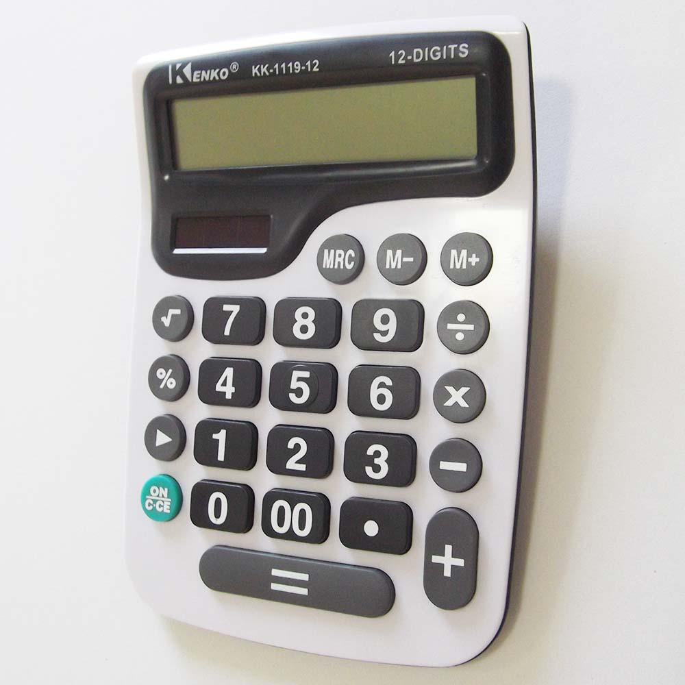 Calculadora 12 Dígitos Kenko KK-1119-12