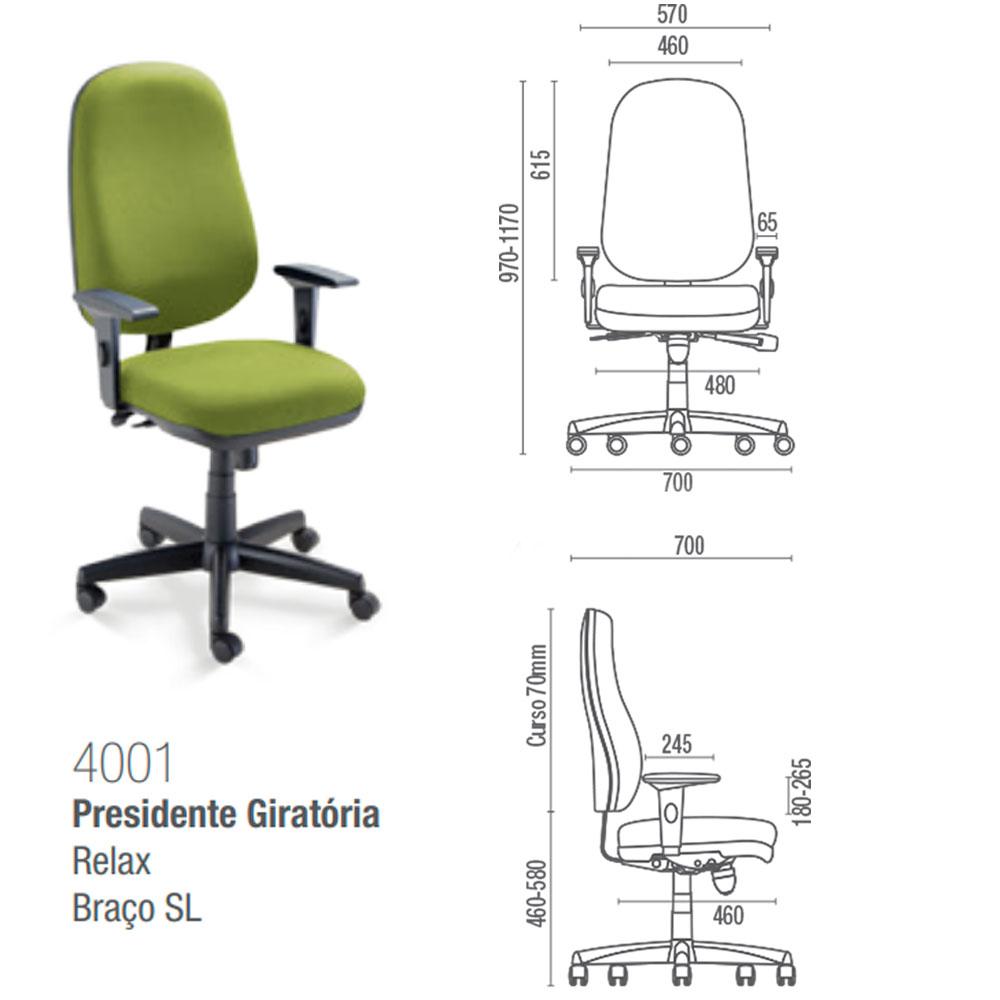 Catálogo de Cadeiras CAVALETTI - Linha Start (Consulte-nos)